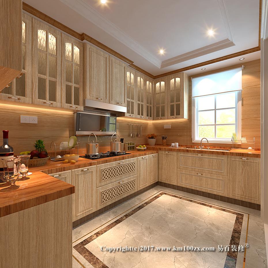 泸西460平米法式风格厨房装修效果图