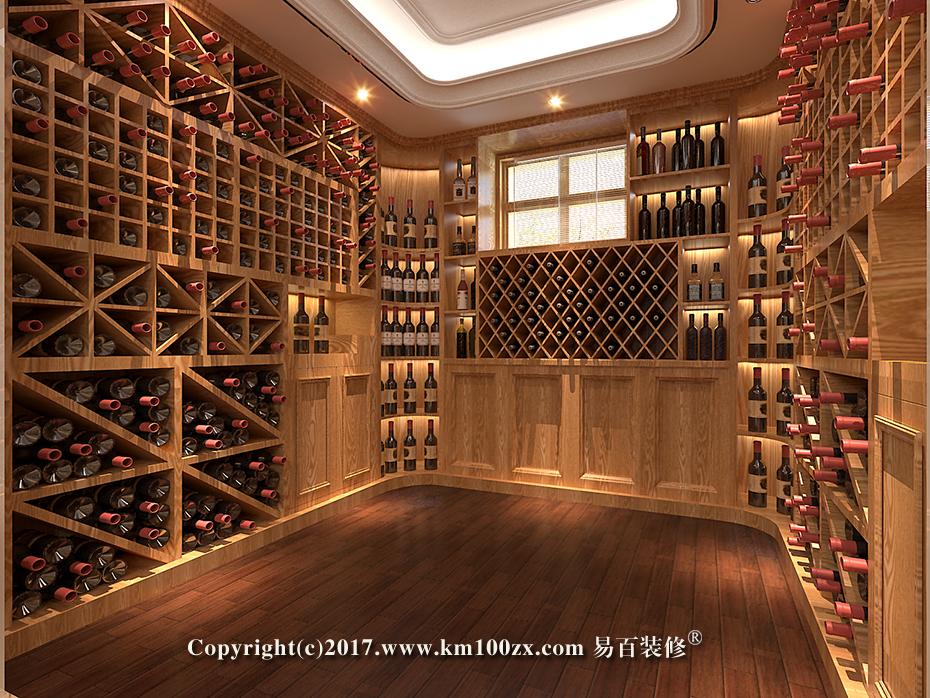 泸西460平米法式风格酒窖装修效果图